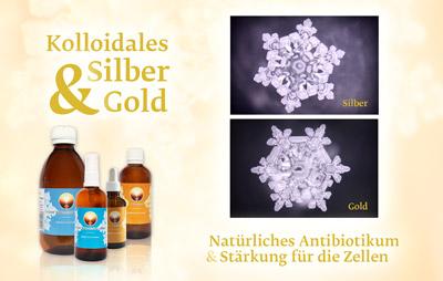 Kolloidales Silber & Gold